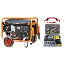Генератор бензиновый Shtenli PRO 3500-S (2,8 кВт) две розетки 220В