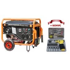Генератор бензиновый Shtenli PRO 3900-S (3,3 кВт) две розетки 220В