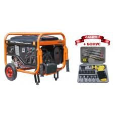 Генератор бензиновый Shtenli 4400 Pro S (4,2 кВт) две розетки 220В