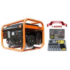Генератор бензиновый Shtenli 4400 Pro (4,3 кВт) две розетки 220В