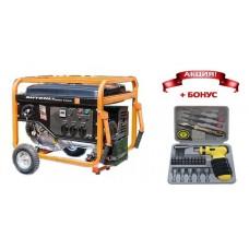 Генератор бензиновый Shtenli PRO S 8400 (7 кВт) три розетки 220В